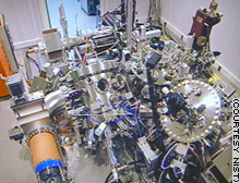 This scanning tunneling microscope is key to nanotechnology research.