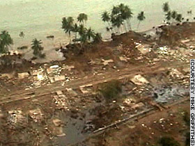 Indonesia's devastation