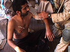 Fallujans survey damage, seek sanctuary