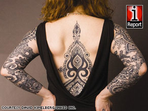 Marisa DiMattia's tattoos