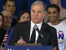 Howard Dean's dramatic fall opened up the New York primary race.