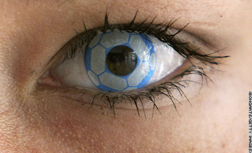 Soccer contact lenses from CNN