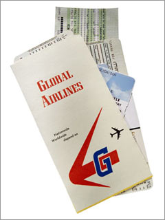 1. Airlines: Paper tickets