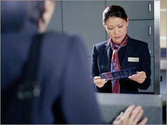 2. Airlines: Talking to a person