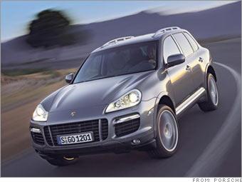 Porsche's redesigned Cayenne