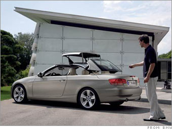 BMW drops cover from 3-series convertible
