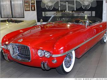 1954 Dodge Firearrow IV concept car
