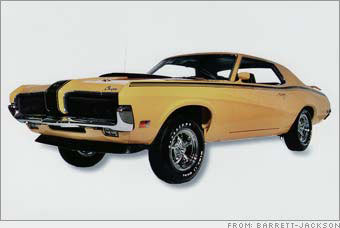 1970 Mercury Cougar Eliminator 428 CJ coupe