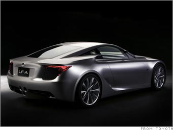 Lexus Sports Car Concept LFA