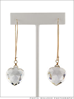 Loftin Crystal Earrings from Ley Love