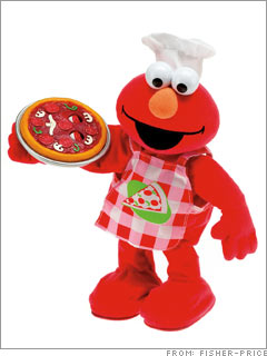 Singing Pizza Elmo